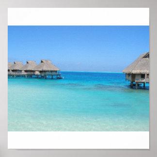 Bora Bora, Tahiti Poster