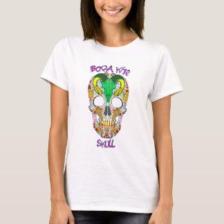Bora kite Skull white t-shirt