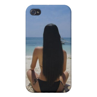 Boracay Beach Girl - Speck® Fitted™ Hard Shell Cas Covers For iPhone 4