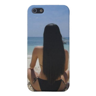 Boracay Beach Girl - Speck® Fitted™ Hard Shell Cas Case For iPhone 5/5S
