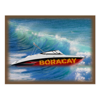 Boracay Philippines - Beautiful Waves Postcard