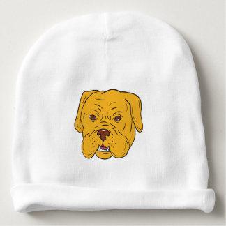 Bordeaux Dog Head Cartoon Baby Beanie