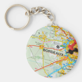 Bordeaux, France Key Ring