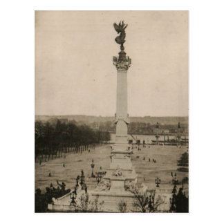 Bordeaux Girondins column France 1926 Replica Postcard