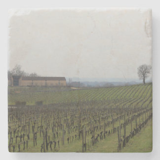 Bordeaux Vines Stone Coaster