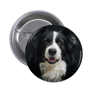 border-collie 6 cm round badge