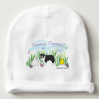 border collie baby beanie