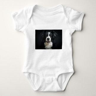 border-collie baby bodysuit