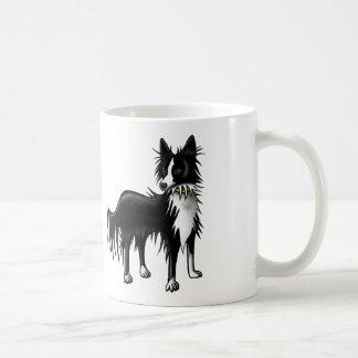 Border Collie Basic White Mug