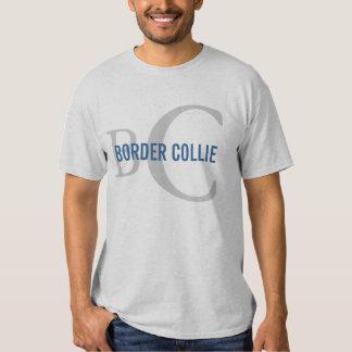 Border Collie Breed Monogram Design Shirt