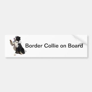 border collie bumper stickers