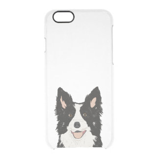 Border Collie clear case - dog iphone case