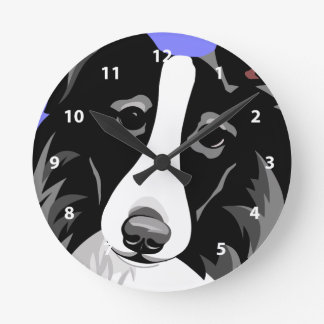 Border Collie Clocks