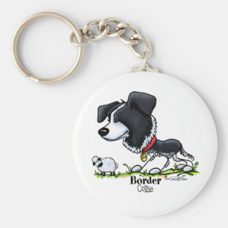 Border Collie - Color Key Ring