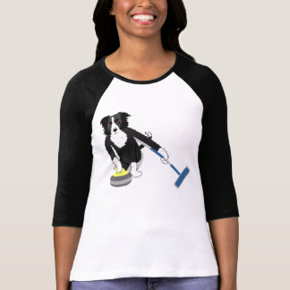 Border Collie Curling T-Shirt
