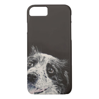 Border collie, customize me. iPhone 7 case