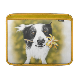 Border collie cutie MacBook sleeve