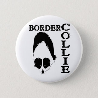 Border Collie Deep Thoughts 6 Cm Round Badge
