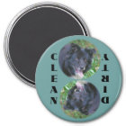 Border Collie Dishwasher Magnet