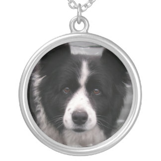 Border Collie Dog Necklace