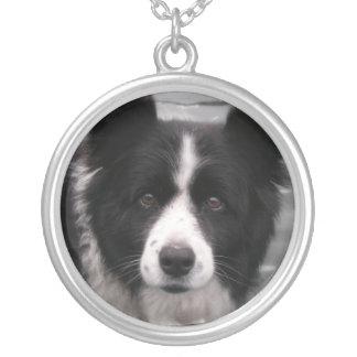 Border Collie Dog Necklace