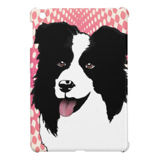 Border Collie Dog Pop Art Pet  Customize iPad Mini Cover