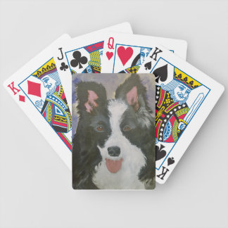 Border Collie gifts Bicycle Playing Cards