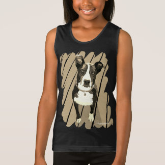 Border Collie Girl Tank