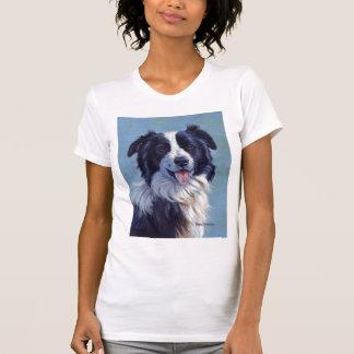 Border Collie Head T-Shirt