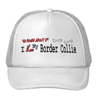 Border Collie (I Love) Hat