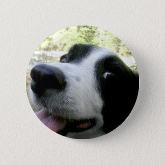 Border Collie Love 6 Cm Round Badge