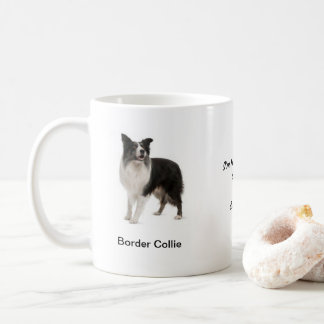 Border Collie Mug - With two images and a motif