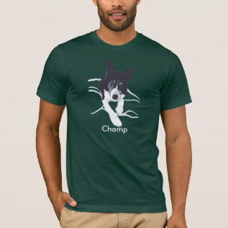 Border Collie Personalized Dog Shirt for People