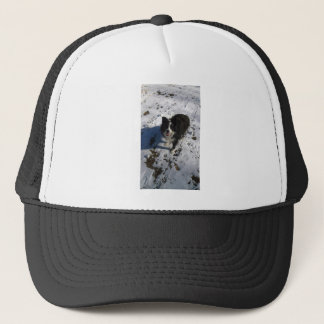 Border Collie photo on products Trucker Hat