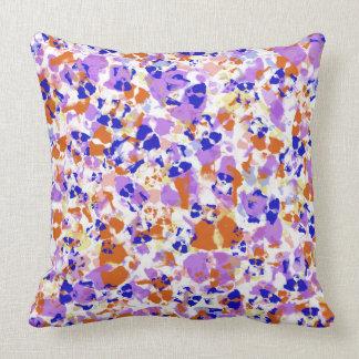 Border Collie Puppy Coloured Throw Pillow