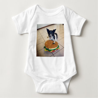 BORDER COLLIE QUEENSLAND AUSTRALIA BABY BODYSUIT