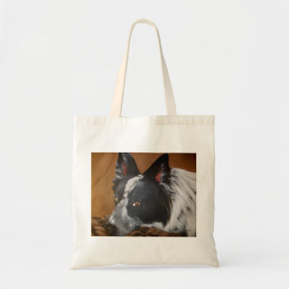 Border Collie Reusable Shopping Bag