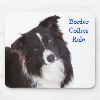 Border Collie Rule Mousepad