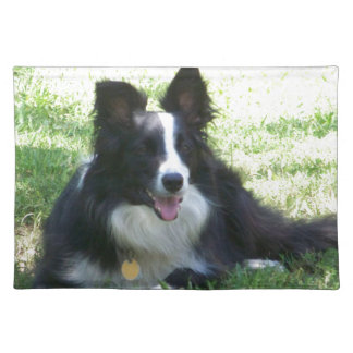 Border Collie Tshirts Placemat