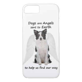 Border Collies Are Angels Smartphone Case