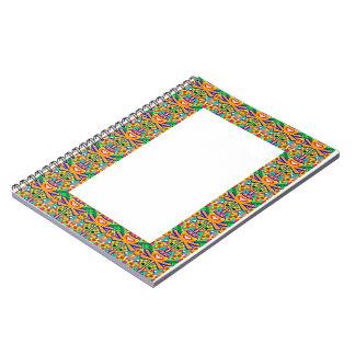 Border Designs: ARTIST NavinJOSHI gifts artistique Spiral Notebook
