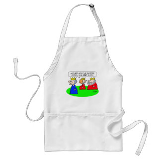 border patrol very rude king queen mother apron