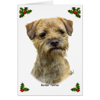 Border Terrier 9A21D-19 Card