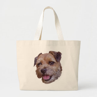 Border Terrier Canvas Bags