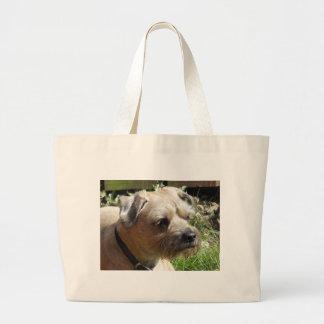Border Terrier Tote Bags