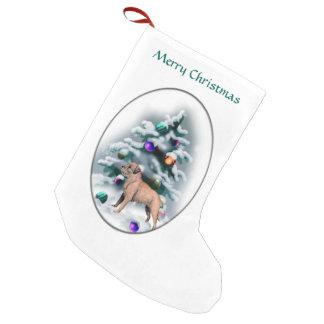 Border Terrier Christmas Small Christmas Stocking