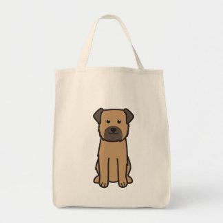 Border Terrier Dog Cartoon