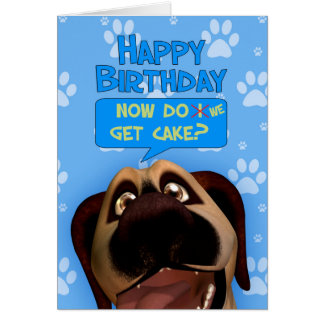 Border Terrier Dog Cartoon With A dash Of Humor Card