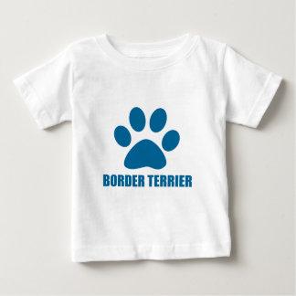 BORDER TERRIER DOG DESIGNS BABY T-Shirt