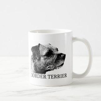 Border Terrier Drawing Coffee Mug
